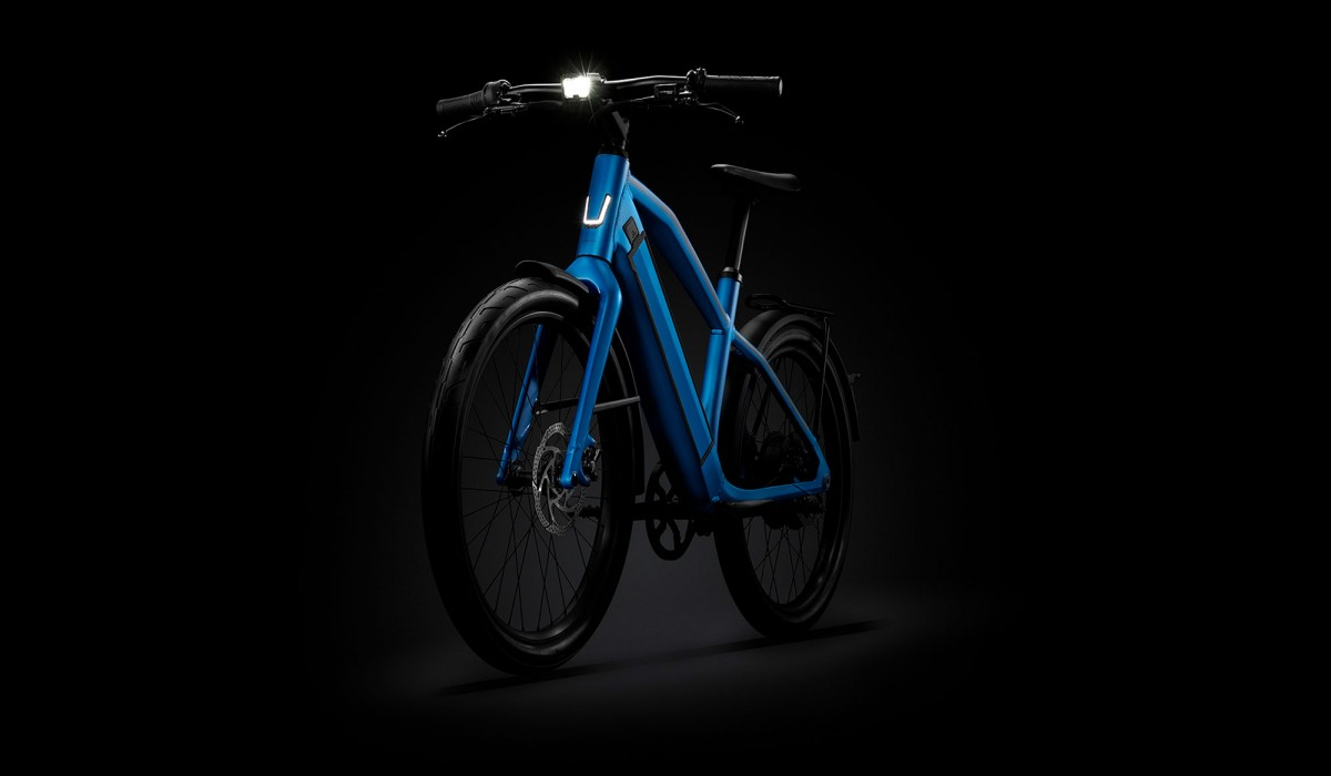 Stromer ST2 with customizable riding position.