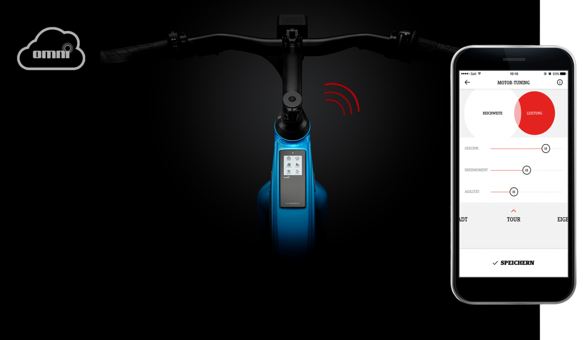Stromer ST2: 3G connectivity keeps you connected to your fast e-bike and transfers information via the on-board computer or smartphone.