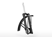 upside down suspension fork