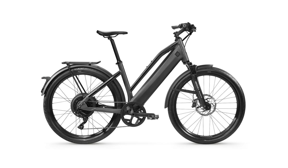 ST1 Comfort Dark Grey with Suspension Fork (Option)