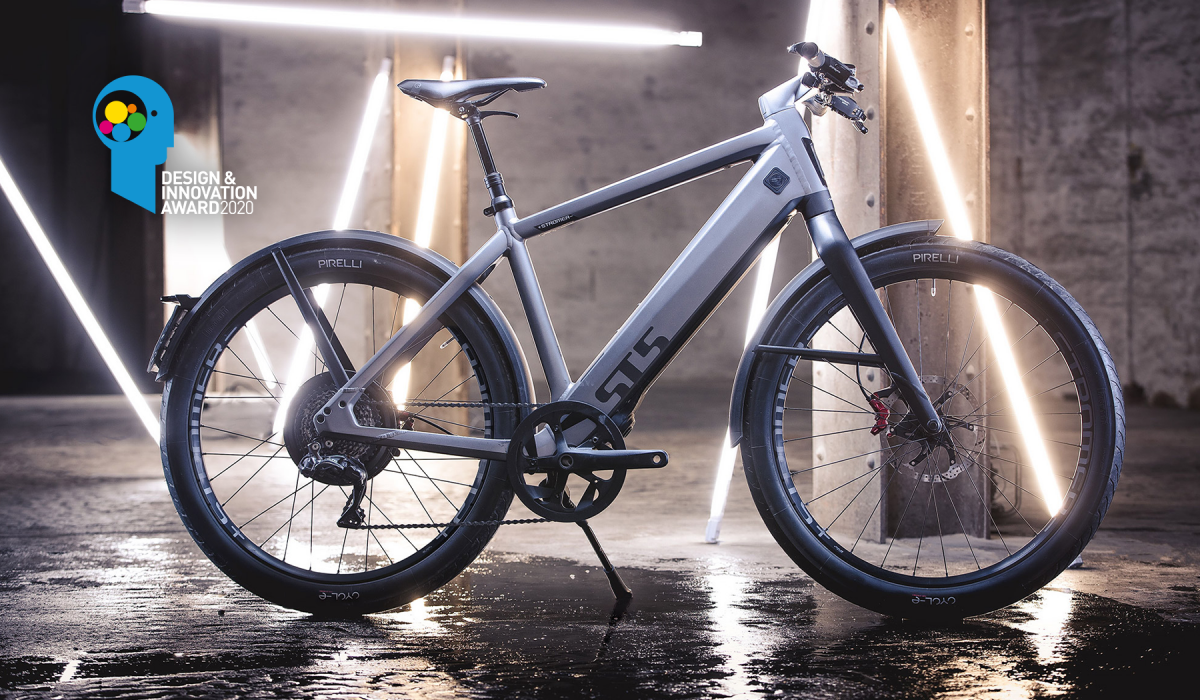 Stromer ST5 gewinnt Design & Innovation Award 2020.