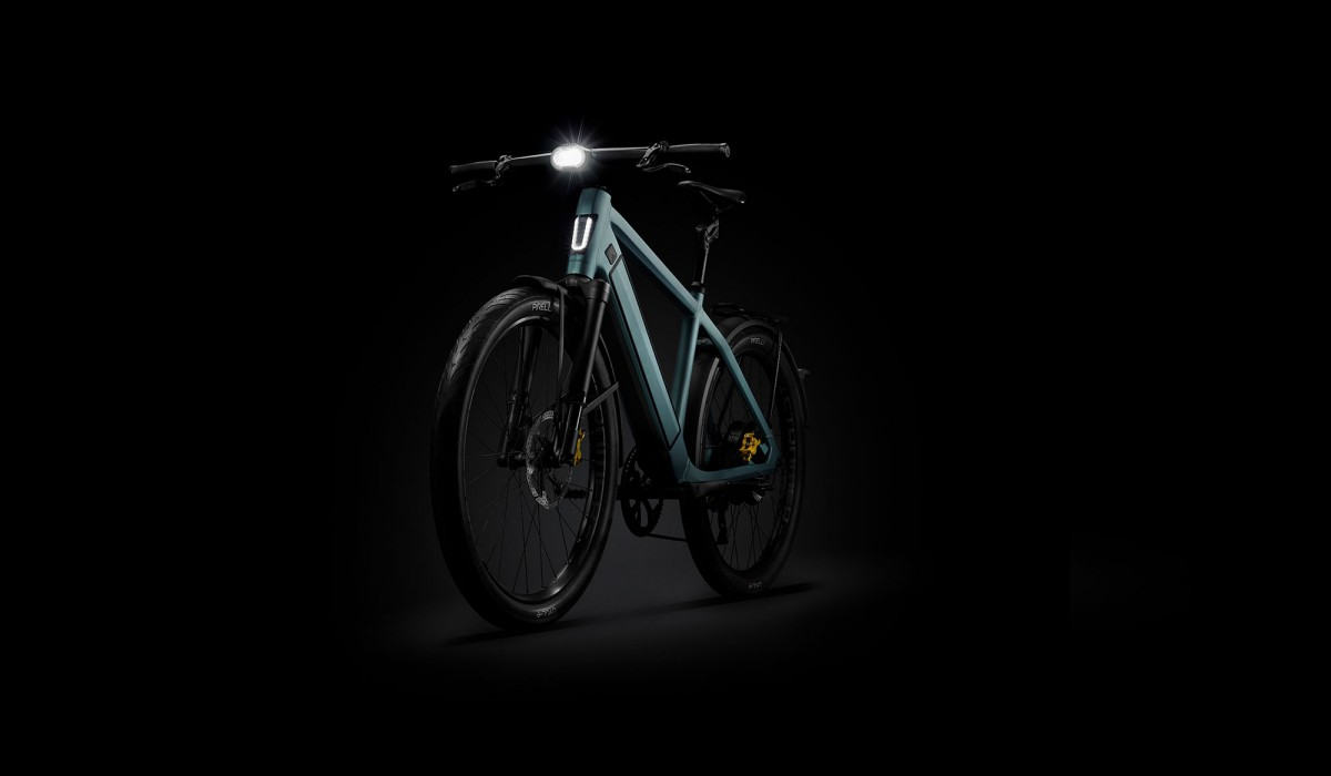 Das Stromer ST5 Limited Edition Speed Pedelec in Frontansicht