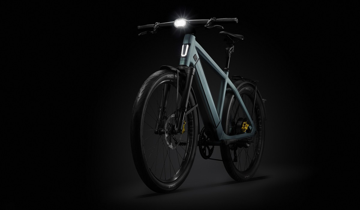 The Stromer ST5 Limited Edition – the e-bike up to 45 km/h with fully integrated design in exclusive Stealth Green paint finish.