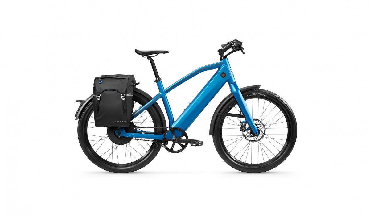 Stromer ST2 Launch Edition in Royal Blue.