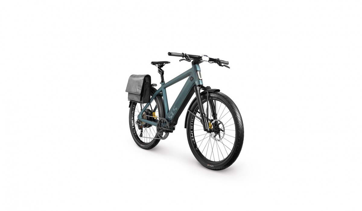 The Stromer ST5 Limited Edition Speed Pedelec in Stealth Green.
