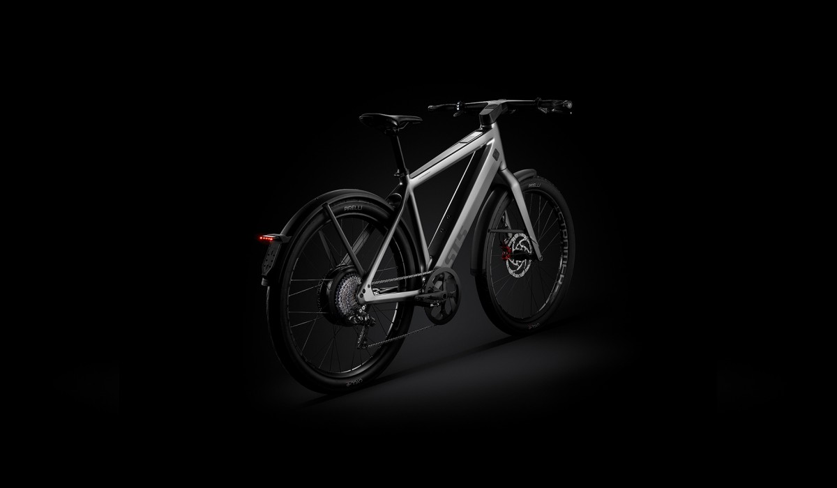 The new Stromer ST5 – with ground frame and fully integrated ABS for additional safety.