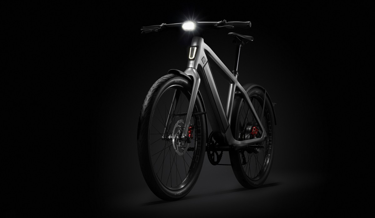 The fully integrated anti-lock braking system of the Stromer ST5 ABS.