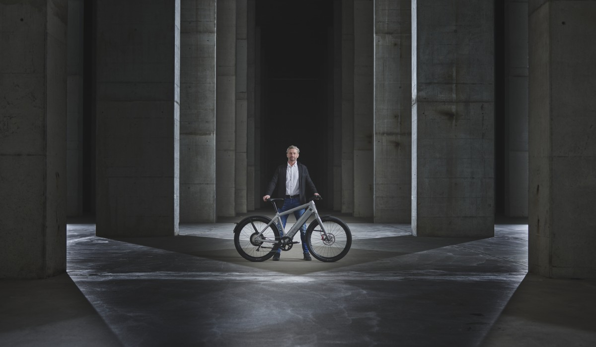 In work and available from June 2021: The Stromer ST5 ABS - the first speed pedelec with fully integrated anti-lock braking system.